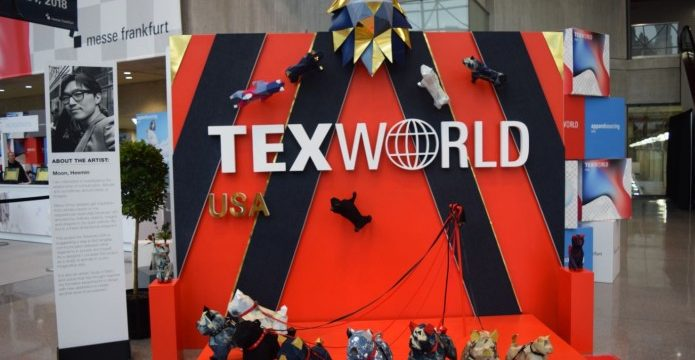 Uzbek textiles were presented at TexWorld USA